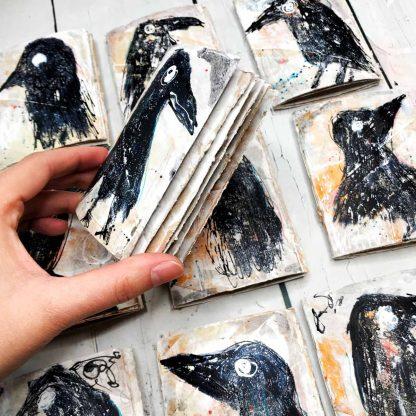 crow mini journals